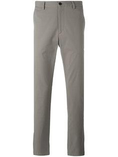 прямые эластичные брюки Theory