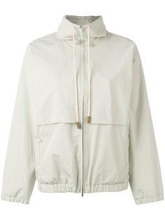 куртка на молнии с завязками Fabiana Filippi