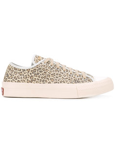 кроссовки с леопардовым узором Visvim