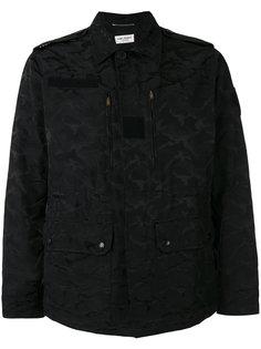 камуфляжная куртка Saint Laurent