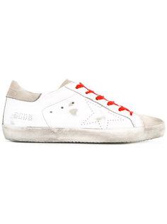 кроссовки на контрастной шнуровке Golden Goose Deluxe Brand