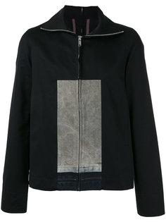 легкая куртка колор блок  Rick Owens DRKSHDW