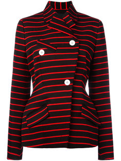 полосатый пиджак с запахом Proenza Schouler