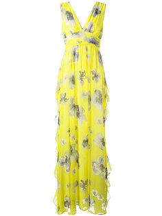 платье с цветочным принтом MSGM