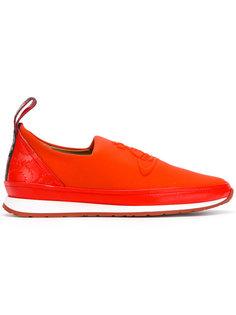 кроссовки с тисненым логотипом  Vivienne Westwood