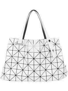 сумка-тоут с отделкой из треугольников Bao Bao Issey Miyake