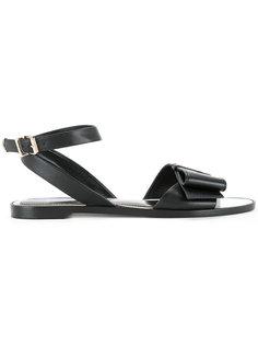 сандалии с бантами  Lanvin