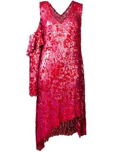 декорированное платье с пайетками Magda Butrym