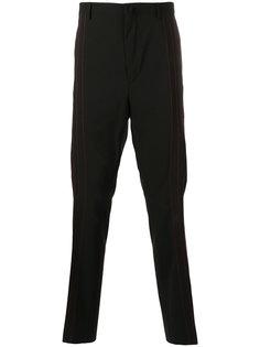 брюки с простроченными панелями Lanvin