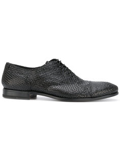 плетеные ботинки оксфорды Henderson Baracco