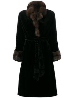 длинное пальто Liska