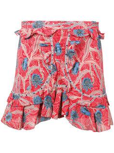 шорты с цветочным принтом Isabel Marant