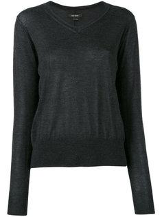 свитер с V-образным вырезом Isabel Marant
