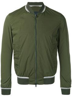 куртка-бомбер с полосками  Herno