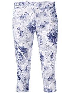 леггинсы с цветочным принтом Adidas By Stella Mccartney