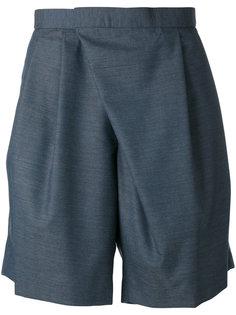 асимметричные строгие шорты Kolor