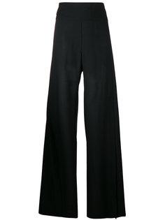 широкие брюки с разрезами сбоку Ann Demeulemeester