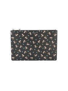 клатч с цветочным узором Givenchy