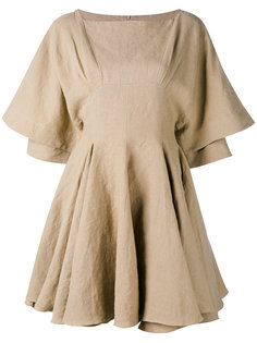 платье с плиссировкой JW Anderson