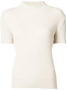 свитер с высоким воротом в рубчик A.P.C.
