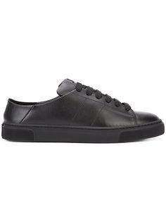 кроссовки на шнуровке Louis Leeman