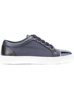 кроссовки с контрастным носком Louis Leeman