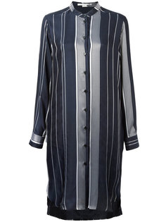короткое платье в полоску Stella McCartney