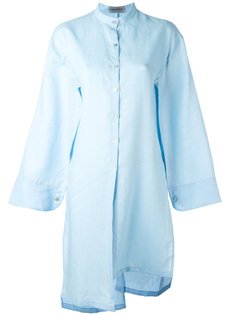 длинная рубашка с широкими рукавами  Balossa White Shirt