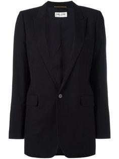 классический длинный пиджак  Saint Laurent