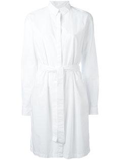 платье-рубашка с поясом  Kenzo