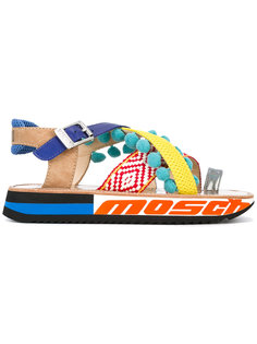 босоножки на платформе Moschino