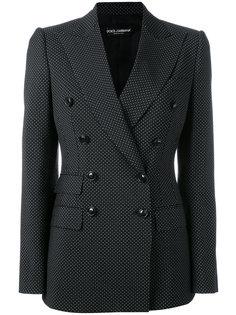 двубортный пиджак Dolce & Gabbana
