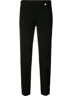 брюки с резным дизайном Versace Collection