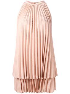 плиссированное платье Sara Battaglia