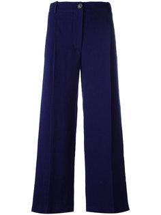 укороченные широкие брюки  Erika Cavallini