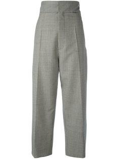 прямые брюки с мелким узором Jacquemus
