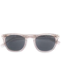 солнцезащитные очки с D-образной оправой Saint Laurent Eyewear