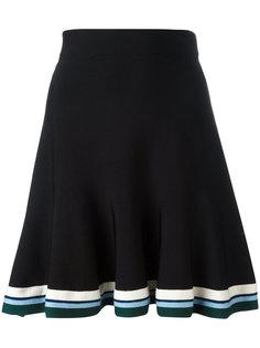 расклешенная юбка  Victoria Victoria Beckham