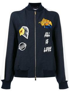 куртка-бомбер со вставками  Stella McCartney