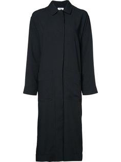 пальто с глубоким разрезом сзади Nomia