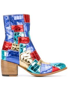 ботинки с лоскутным дизайном Rocco P.