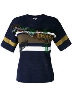 футболка в полоску Kenzo