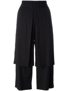 двухслойные укороченные брюки Aalto