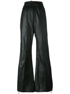 брюки свободного кроя с полосками по бокам Off-White