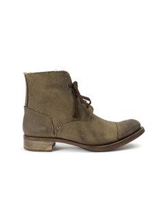 ботинки с необработанными краями Cherevichkiotvichki