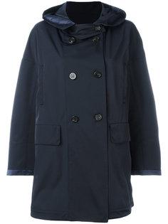 пальто миди с капюшоном Moncler