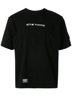 футболка с логотипом KTZ