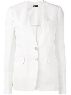 пиджак с застежкой на две пуговицы Jil Sander Navy