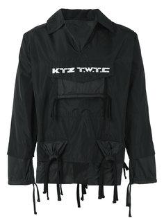 куртка с карманом и вышивкой KTZ