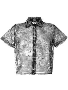 прозрачная рубашка KTZ